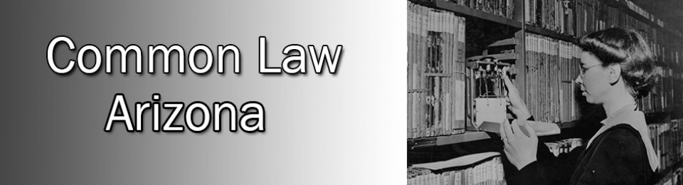 Arizona Common Law